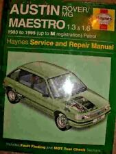 AUSTIN MAESTRO WORKSHOP MANUAL