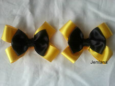Jemlana's handmade Emma wiggle shoe bows for girls...