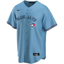 Men's Toronto Blue Jays Nike Azul Claro Réplica Alternativo Team Jersey-Em Branco