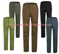 Men's Soft shell Pants FLEECE Waterproof SNOW Board SKI Trousers
