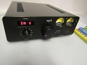 SPL Director MKII  Hi-End Hifi Vorverstärker Verstärker DAC Wandler + 3 x FB
