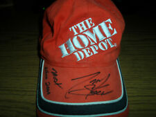 TONY STEWART SIGNED/AUTOGRAPHED THE HOME DEPOT RACING TEAM HAT...NASCAR LEGEND