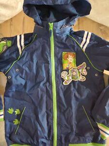 Disney Store Pixar Toy Story Buzz Lightyear Boys Windbreaker Jacket M (7/8)