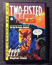 2007 EC Archives TWO-FISTED TALES v1 by Harvey Kurtzman & Wally Wood HC/DJ NM/VF