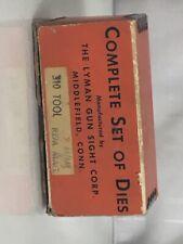 Vintage Lyman Ideal  7mm Rem Mag  Dies True Line