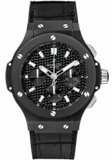 Hublot Big Bang 44mm Date Black Dial Chronograph Men's Watch 301.CI.1770.GR