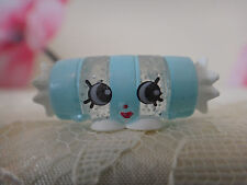 Exclusive Shopkin Miss Candy -Glittery Clear & Blue Smarties