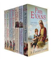 Pam Evans 7 Books Romance Family Saga Distant Dream Dance Your Troubles New