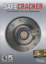 SAFECRACKER 2 Safe Cracker Puzzle PC Game NEW in BOX!
