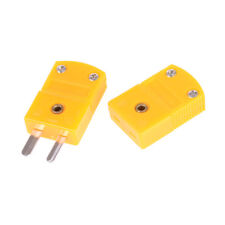 1 set Thermocouple Mini Socket Panel Mount Alloy Plug ConnectorLD