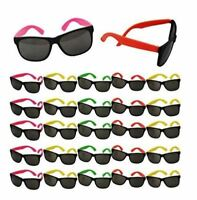 80s Party Neon Prop Sunglasses Pool Party Fillers Beach Party Luau Favors BULK