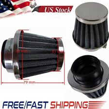 38mm Chrome Universal Motorcycle Air Filter Pod moped Scooter ATV Dirt Quad Bike