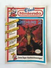 Club Nintendo Magazine 1991 Dutch NL