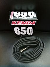 Kenda 650 X 18/23c Presta (French Valve) bicycle inner tube. Rare old sizing