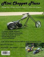 Mini Chopper Plans ! How To Build 8 Unique Mini Choppers ! Step By Step