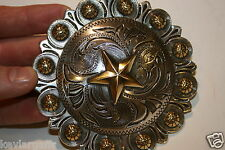 VERY LARGE TEXAS STAR Round Concho