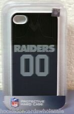 Oakland Raiders iPhone4 - iPhone4S Team Case Jersey style I Phone Holder Cover