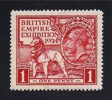 Gr Brit Stamp #185— 1p Lion & Geo V - 1924 - Unused
