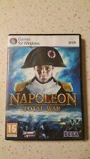 NAPOLEON TOTAL WAR ITALIANO DVD VERSION USATO BUONO STATO EDIZIONE ITA