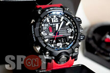 Casio G-Shock Mudmaster Triple Sensor Solar Red Resin Men's Watch GWG-1000RD-4A