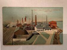 Vintage 1915 American Smelting and Refining Company Omaha Nebraska Postcard