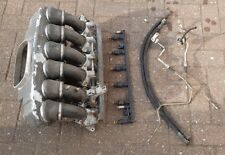 BMW M3 E36 EVO THROTTLE BODIES WITH FUEL RAIL & INJECTORS & AIRBOX S50B32