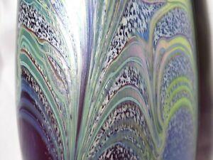 Spectacular Loetz / Okra Style Large Art Glass Vase Nouveau ? Kralik  ?