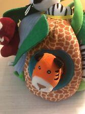 FAO Schwarz Safari Collection Safari Zoo Animal Jungle PlayHouse Plush Playset