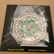 KCNC Kasditor Disc Brake Rotor 140mm 6-bolt IS  Green New