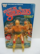 Rare Vintage Hulk Hogan WWF LJN Wrestling Superstars MOC Figure 1984 5-back