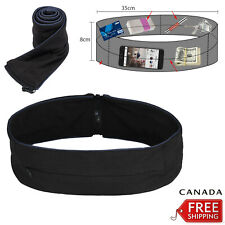 Waist Exercise Fitness Running Belt Flip Style Pouch Bag For Mobile Keys Cash CA