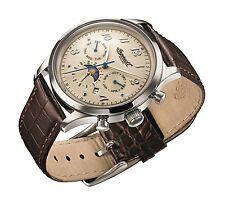 Reloj Automático Ingersoll Unión para hombre con correa marrón de cuero IN1203CH