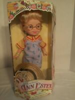 "Playmates Mary Engelbreit's ANN ESTELLE 16"" Doll Overall Outfit. 1997 NIB  Gift."
