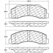 Disc Brake Pad Set-SSV Front Stoptech 308.14140