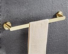 SUS Bathroom Towel Rack Holder Single Rail Bar Hanger Bath Accessory Wall Mount