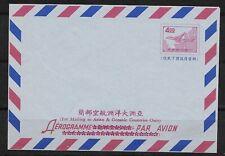 E5672 TAIWAN CHINA UNUSED AEROGRAMME AIRPORT PICTORIAL AVIATION