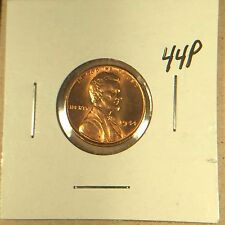 1944 P Lincoln Wheat Cent Gem BU War Shell Casing WWII