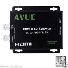 NEW HDMI to SDI Converter 3G-SDI HDCP Compatible Supports 1080i 1080P & Audio