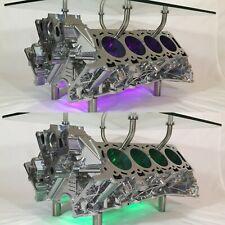 Aston Martin V8 Vantage Engine Block Coffee Table