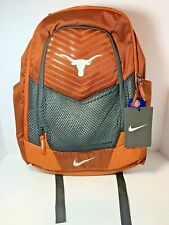 Nike MAX AIR Texas Longhorns Vapor Power Backpack Capacity 1709cu in. BA5285-802