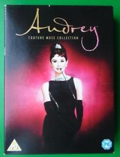 AUDREY HEPBURN COUTURE MUSE COLLECTION 6 DVD BOX SET REGION 2 2009