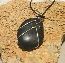 BWT- River Stone, Beach Pebble necklace Nc2191 Nautical Beach Shells Collectable