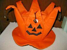 Halloween Jack-O-Lantern / Thanksgiving Pumpkin Hat Battery Operated - Retired