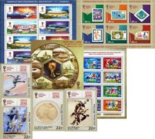 [SET] Blocks x Booklet x Stamps / 2018 FIFA WORLD CUP Russia™ / Soccer/ Football