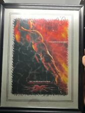 """Vin Diesel Signed Canvas """"Xxx"""" Movie - Autographed - Abstract Art"""