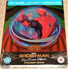 Spider-Man Far From Home 3D Steelbook  Region Free Blu Ray /WORLDWIDE SHIPPING