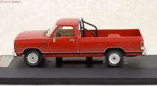 1 43 PremiumX ixo Model Dodge Ram Pick Up Red 1987 PRD259