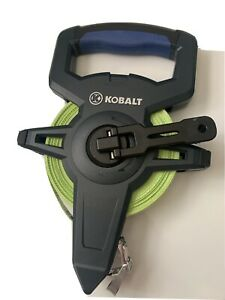 KOBALT 100 ft (30.48M) open reel measuring tape used, great condition