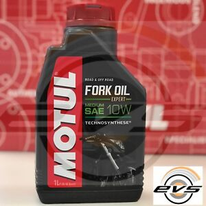 Olio Forcella Moto MOTUL FORK OIL EXPERT Medium Sae 10W Technosynthese 1 Litro