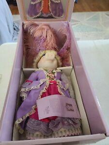 Miss Piggy Marie Antoinette Muppet Porcelain Doll 1983 In Box Certificate NEW